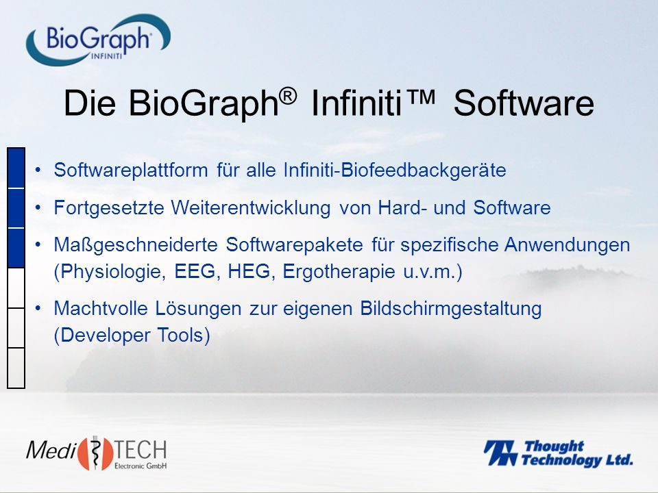 Die BioGraph® Infiniti™ Software