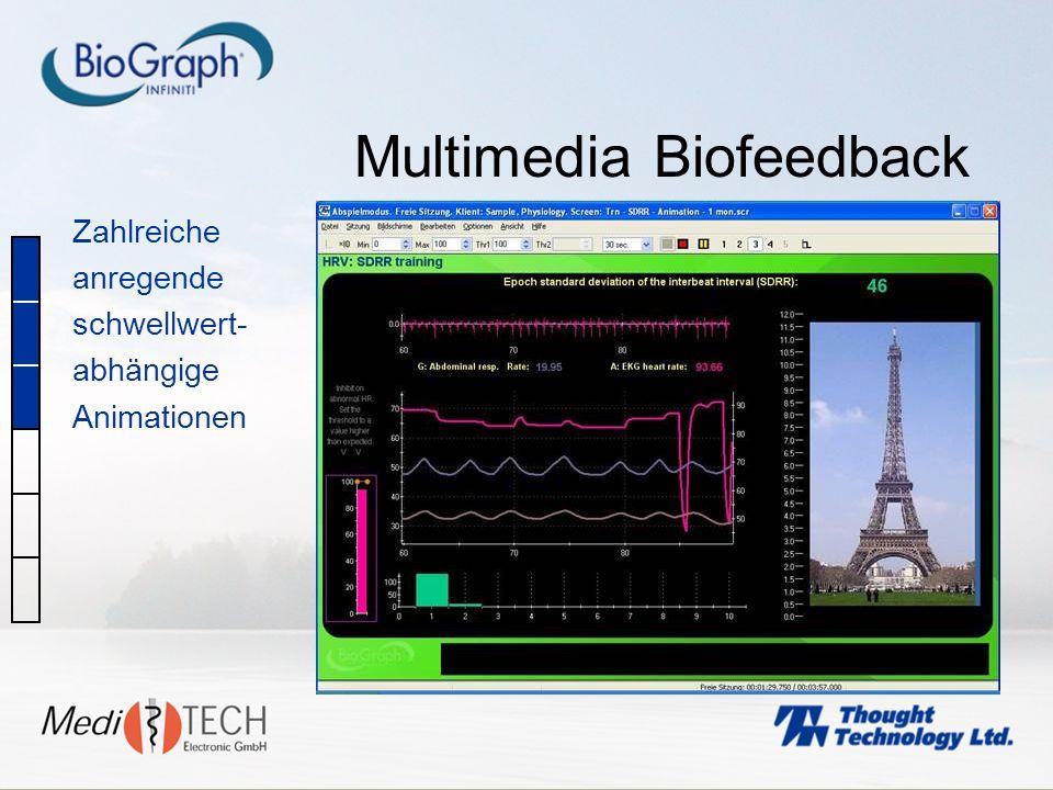 Multimedia Biofeedback