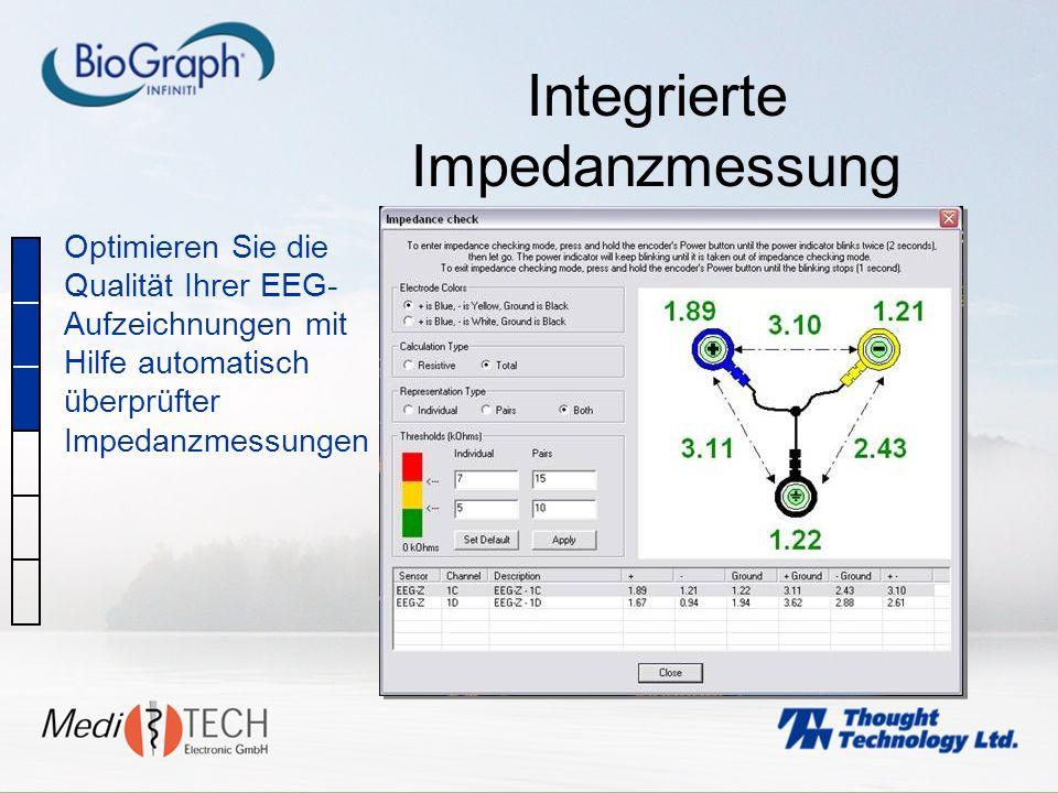 Integrierte Impedanzmessung