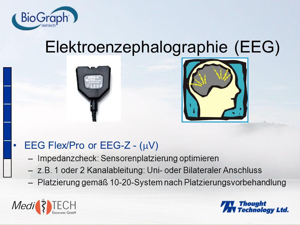 Elektroenzephalographie (EEG)