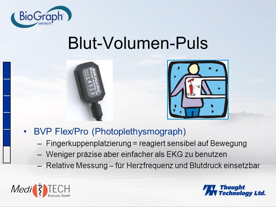 Blut-Volumen-Puls BVP Flex/Pro (Photoplethysmograph)