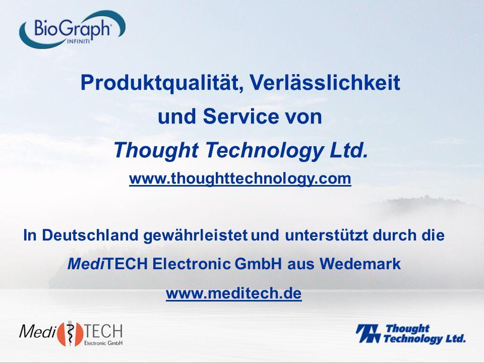 Produktqualität, Verlässlichkeit und Service von