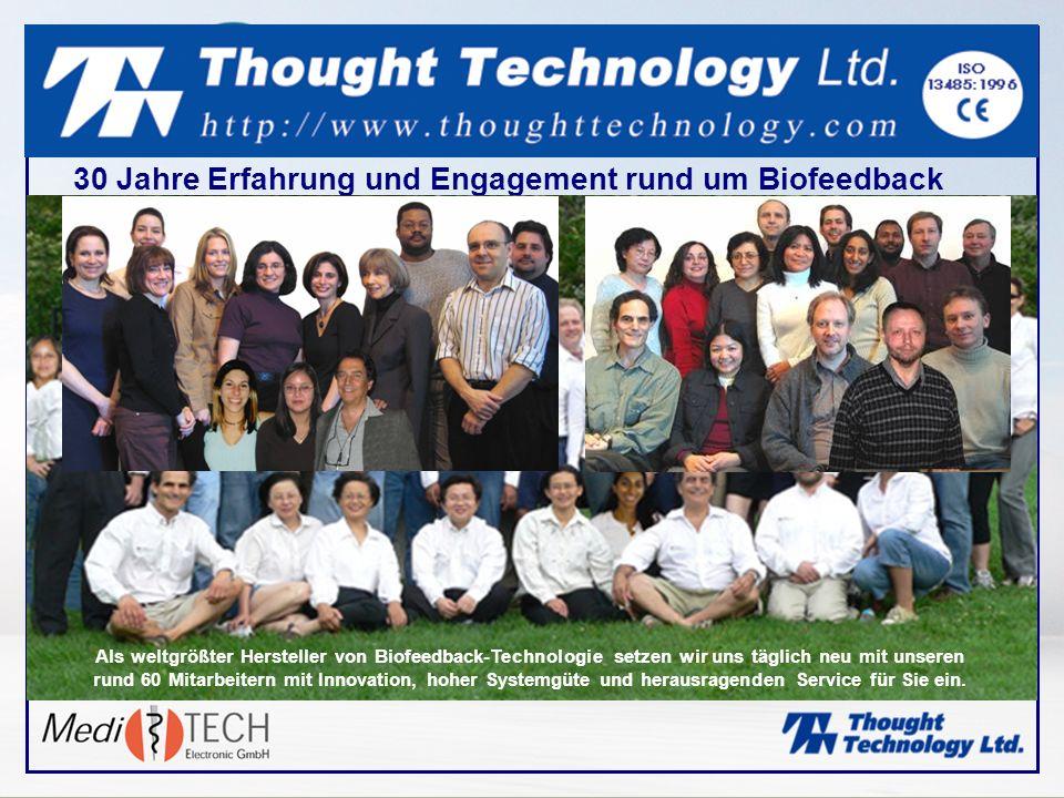 30 Jahre Erfahrung und Engagement rund um Biofeedback
