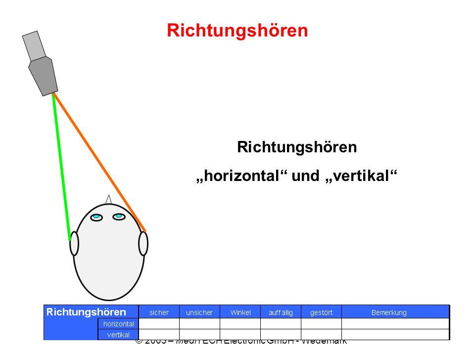 """horizontal und ""vertikal"