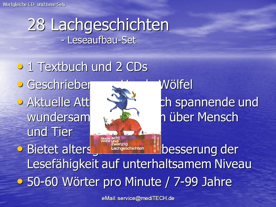 28 Lachgeschichten - Leseaufbau-Set