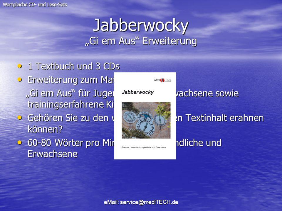 """Jabberwocky """"Gi em Aus Erweiterung"""