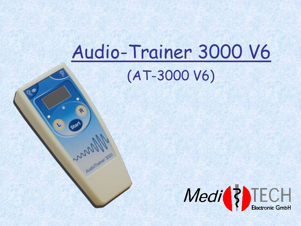 Audio-Trainer 3000 V6 (AT-3000 V6)