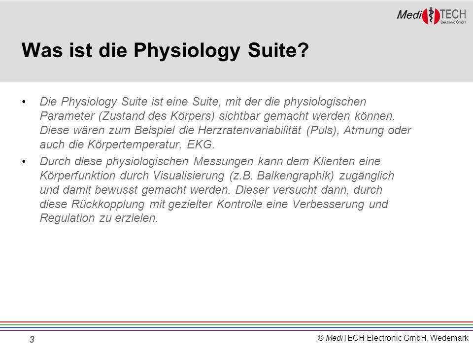 Was ist die Physiology Suite