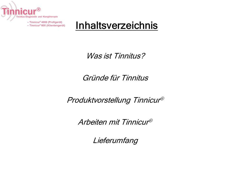 Inhaltsverzeichnis Was ist Tinnitus Gründe für Tinnitus