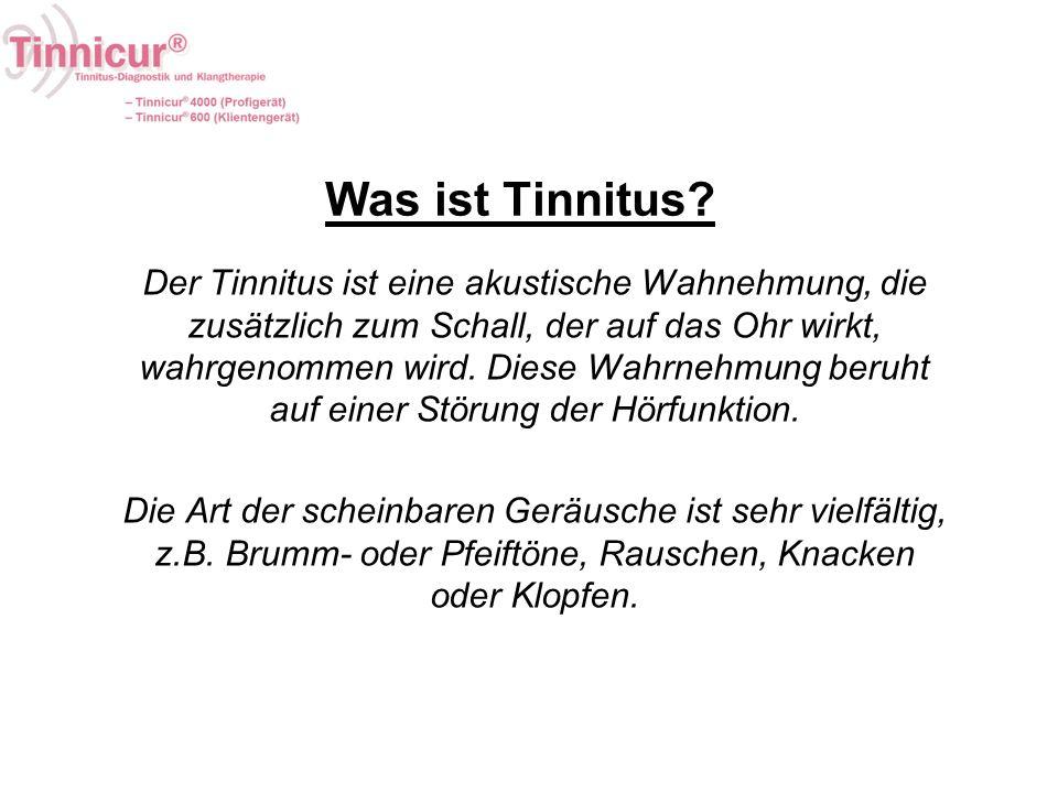 Was ist Tinnitus