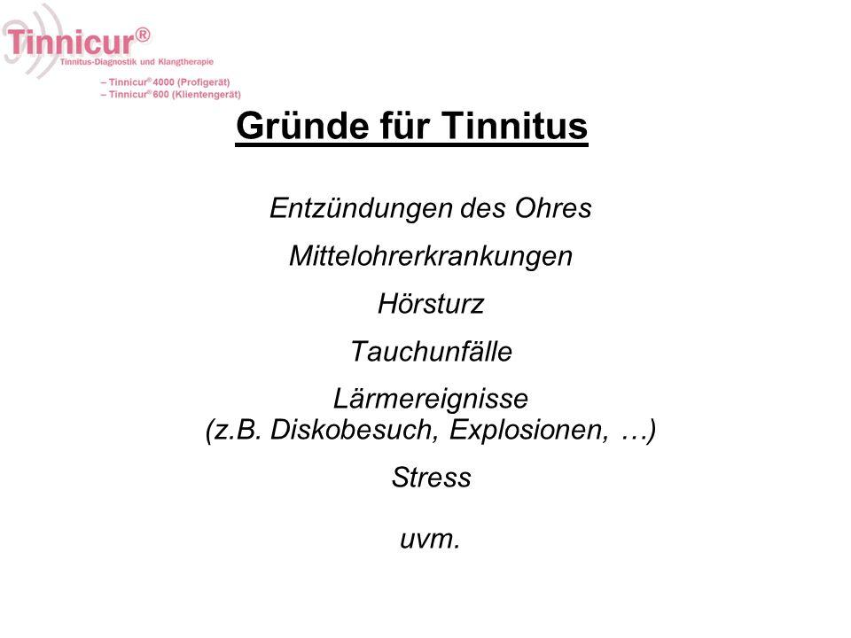 Gründe für Tinnitus Entzündungen des Ohres Mittelohrerkrankungen