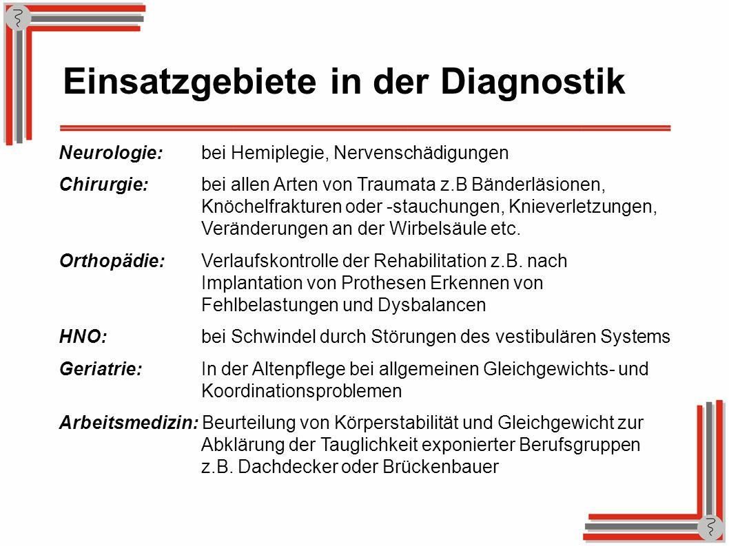 Einsatzgebiete in der Diagnostik