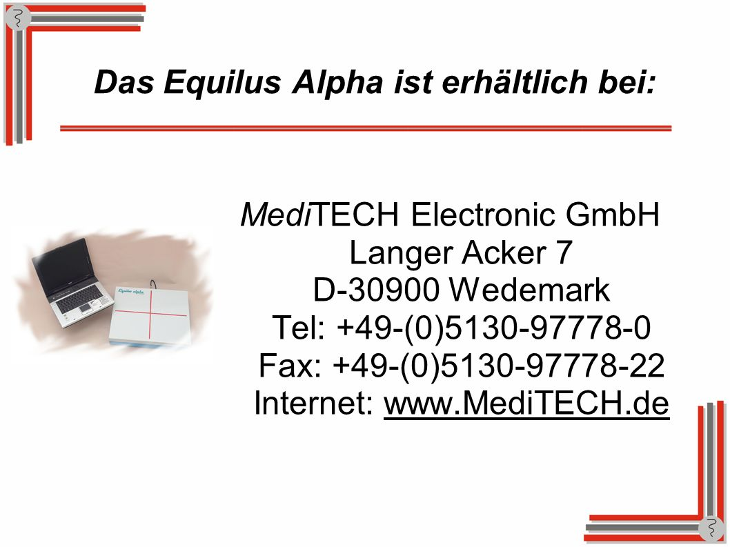 Das Equilus Alpha ist erhältlich bei: