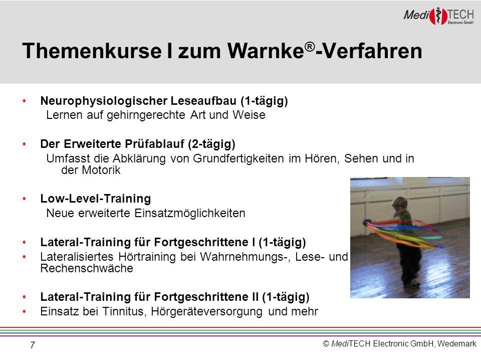 Themenkurse I zum Warnke®-Verfahren