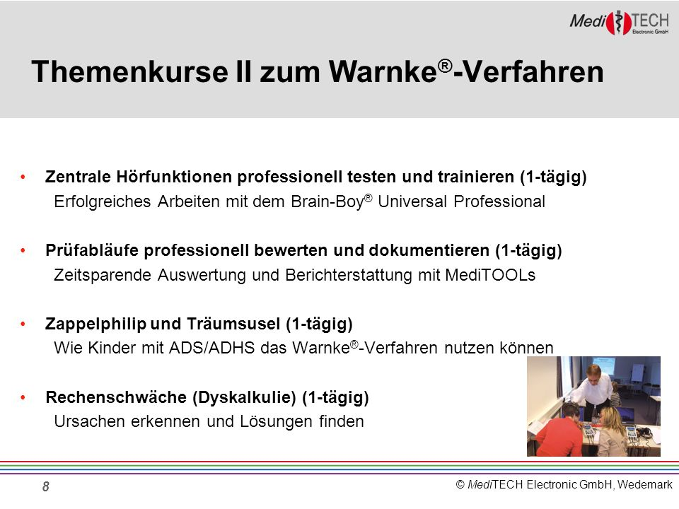 Themenkurse II zum Warnke®-Verfahren