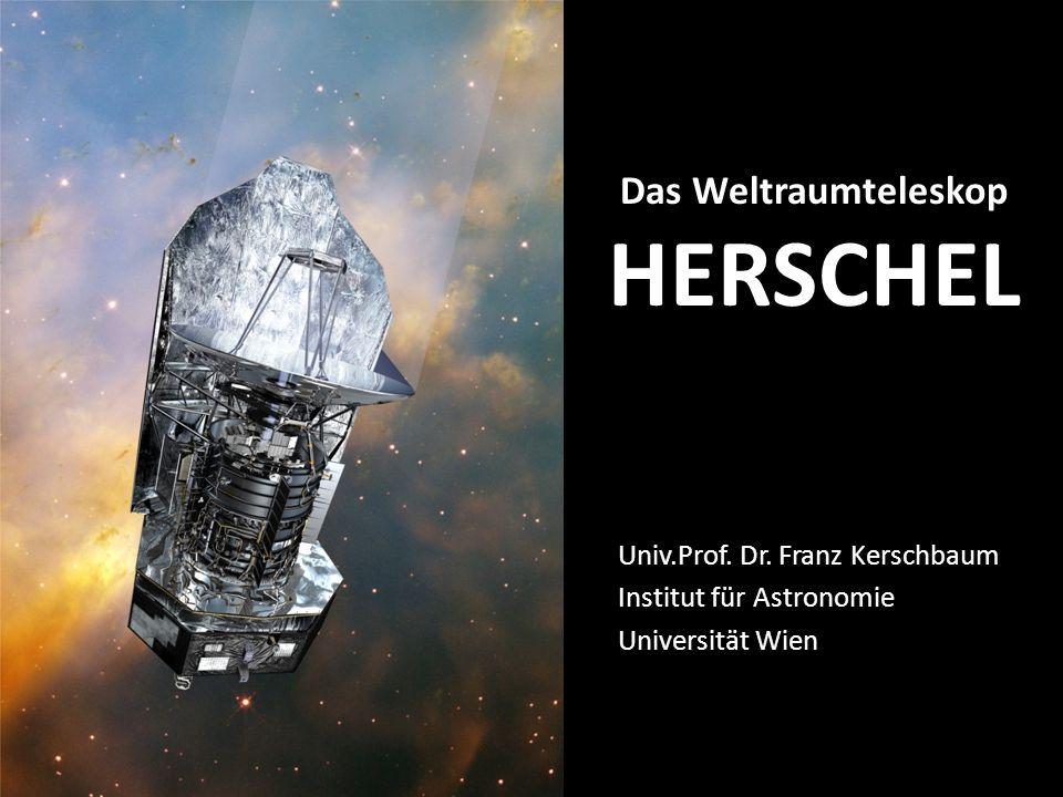 Das Weltraumteleskop HERSCHEL