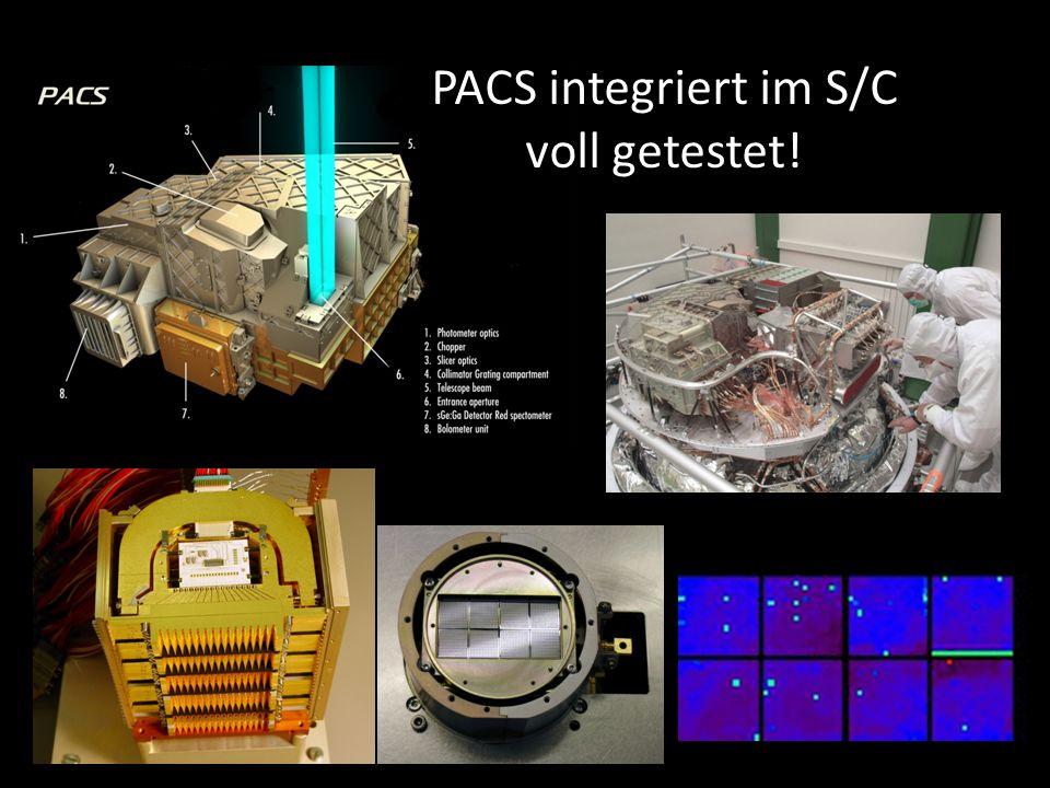PACS integriert im S/C voll getestet!