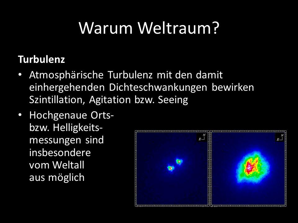 Warum Weltraum Turbulenz