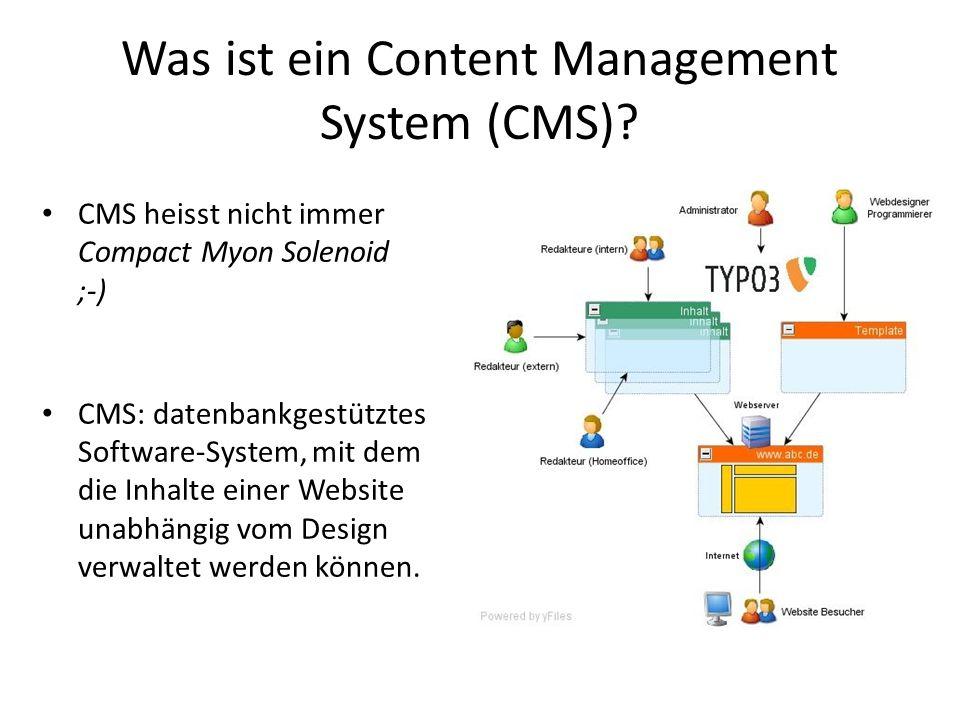 Was ist ein Content Management System (CMS)