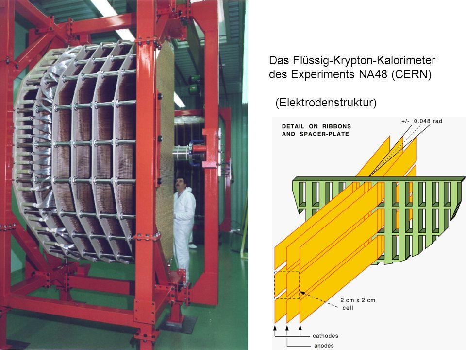 Das Flüssig-Krypton-Kalorimeter des Experiments NA48 (CERN)