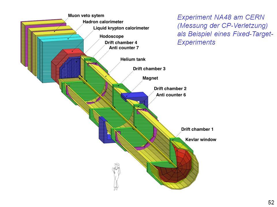 Experiment NA48 am CERN (Messung der CP-Verletzung) als Beispiel eines Fixed-Target- Experiments