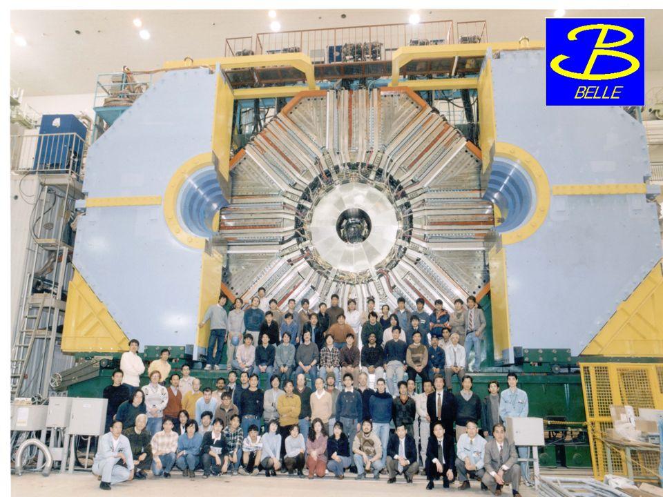 Foto des Belle-Detektors