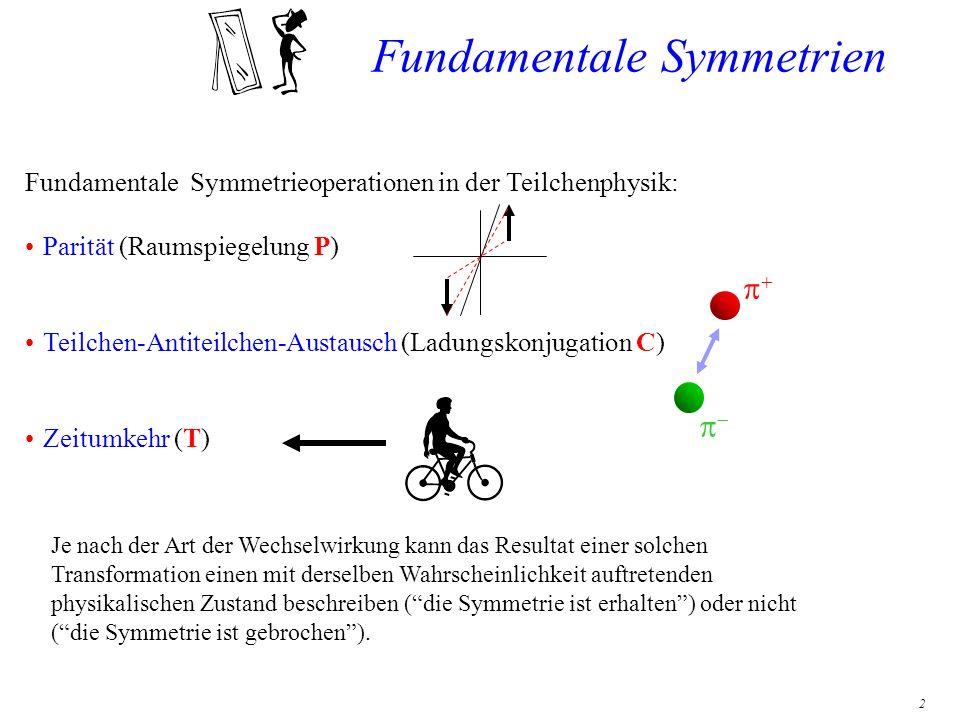 Fundamentale Symmetrien