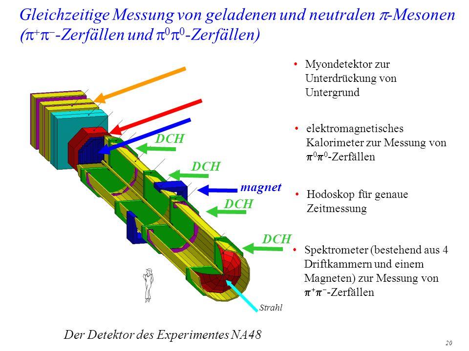 Der Detektor des Experimentes NA48