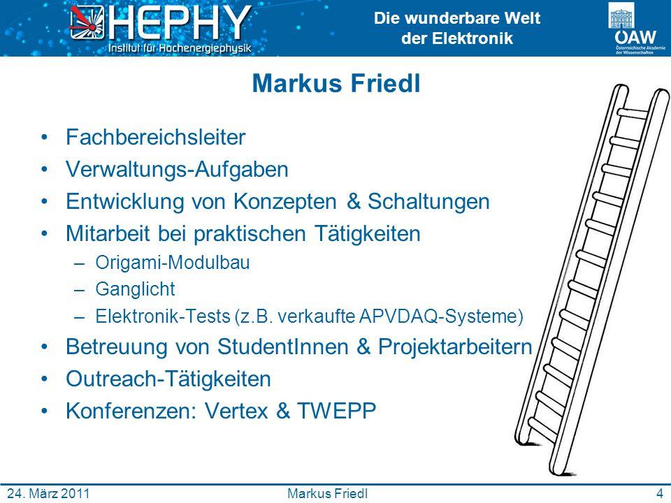 Markus Friedl Fachbereichsleiter Verwaltungs-Aufgaben