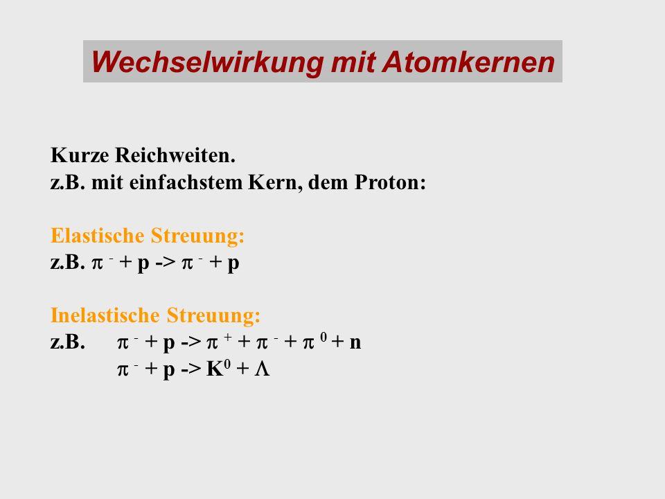 Wechselwirkung mit Atomkernen