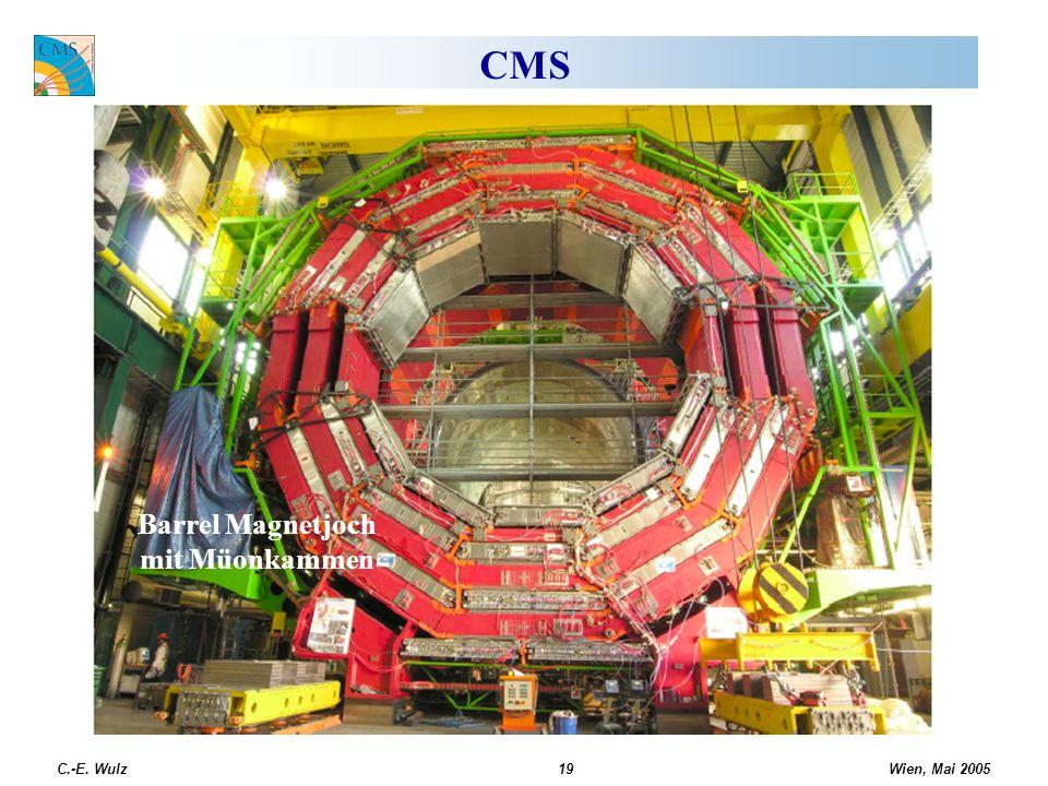 CMS Barrel Magnetjoch mit Müonkammen C.-E. Wulz