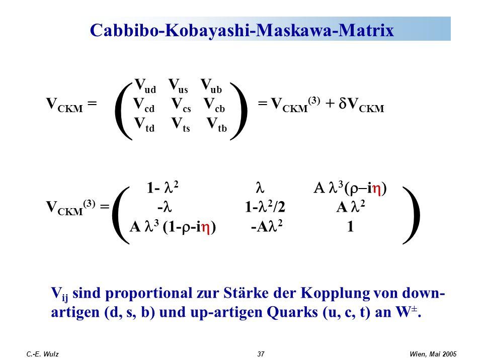 Cabbibo-Kobayashi-Maskawa-Matrix