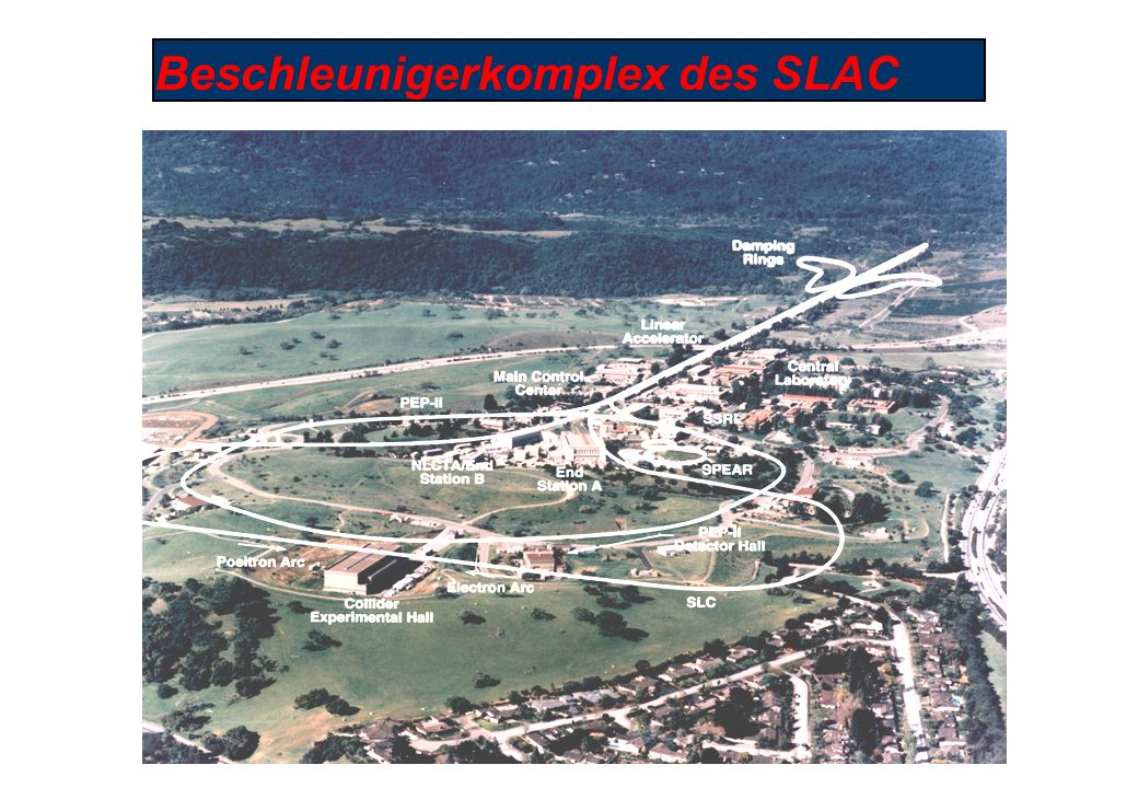 Beschleunigerkomplex des SLAC