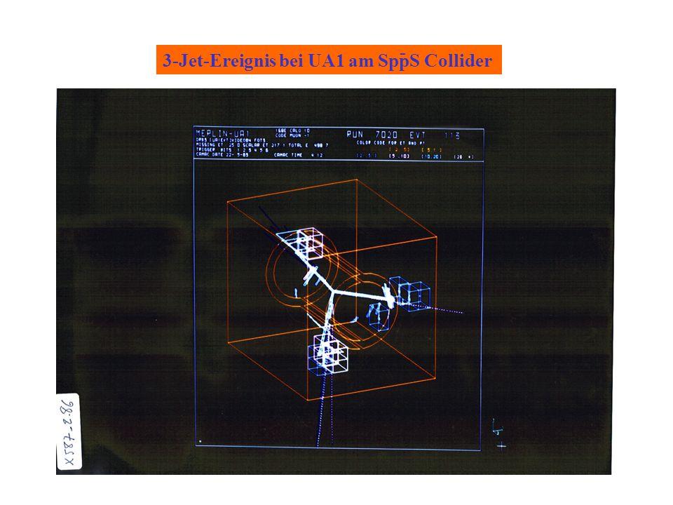 - 3-Jet-Ereignis bei UA1 am SppS Collider