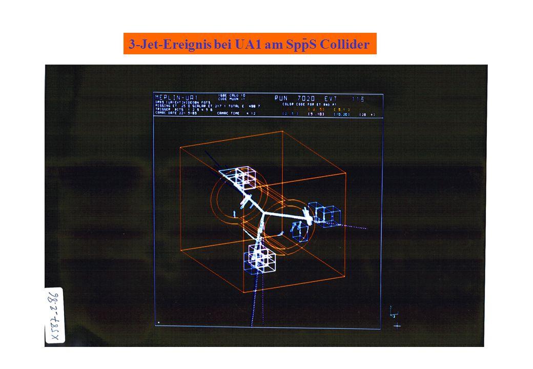 3-Jet-Ereignis bei UA1 am SppS Collider