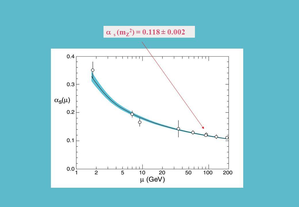 as (mZ2) = 0.118 ± 0.002