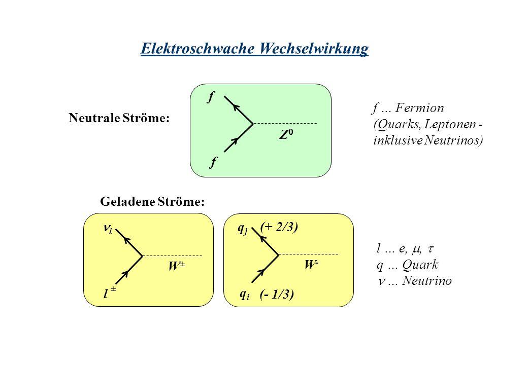 Elektroschwache Wechselwirkung