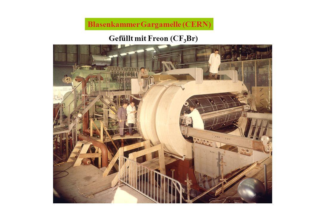 Blasenkammer Gargamelle (CERN)