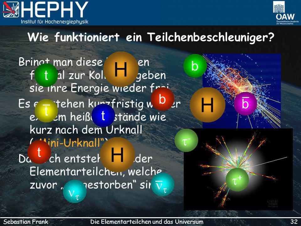 Wie funktioniert ein Teilchenbeschleuniger