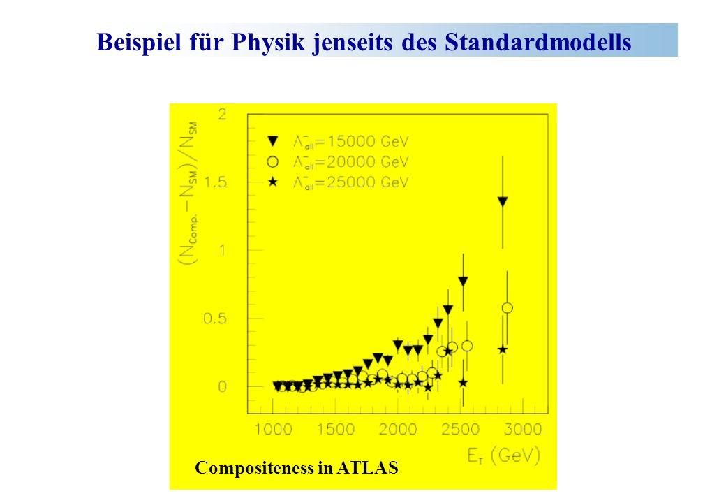 Beispiel für Physik jenseits des Standardmodells