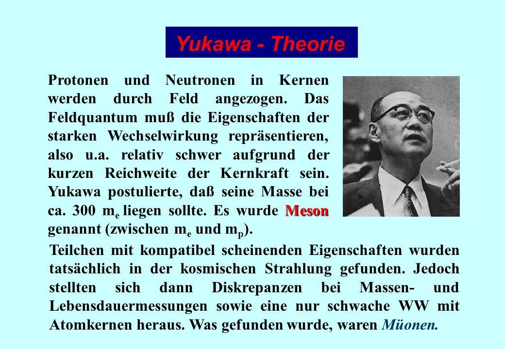 Yukawa - Theorie