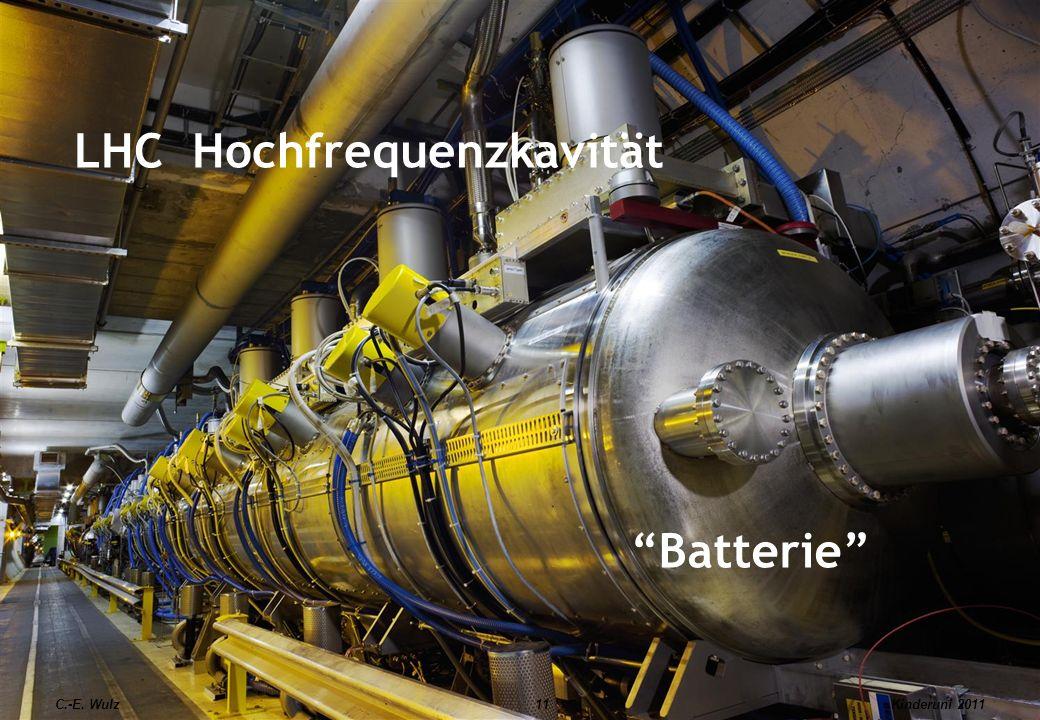 LHC Hochfrequenzkavität