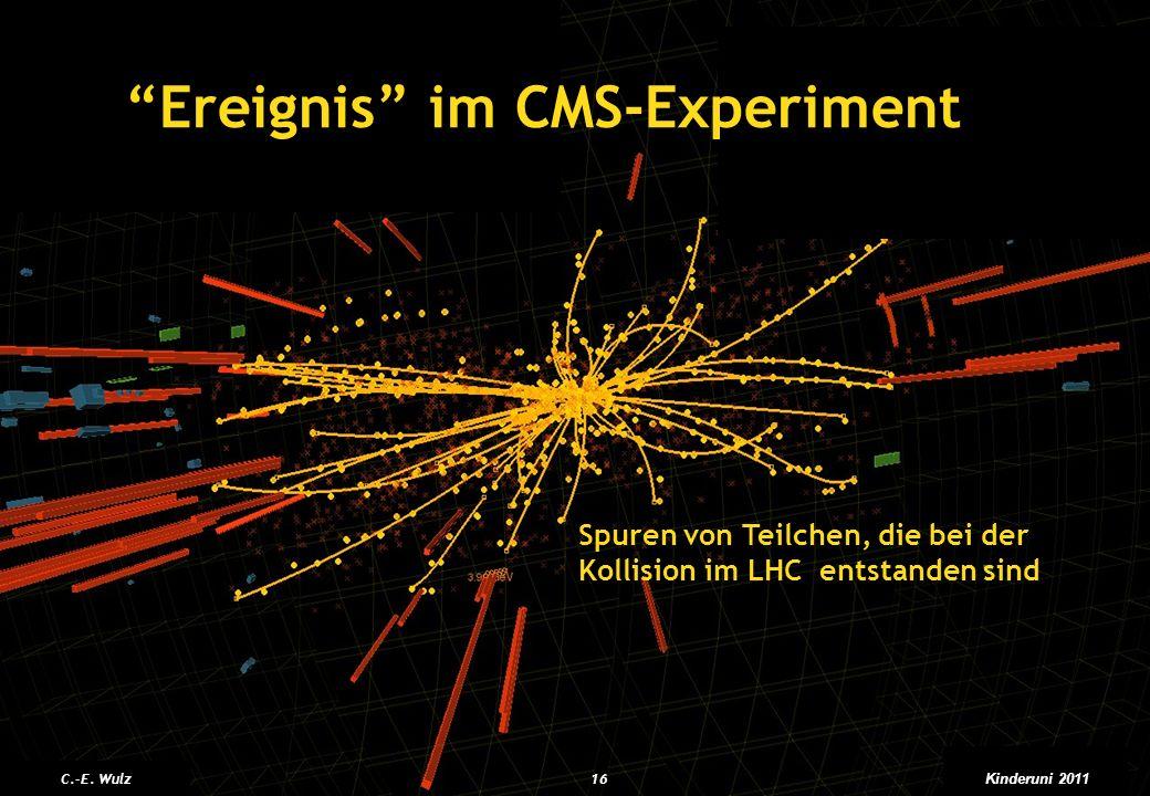 Ereignis im CMS-Experiment