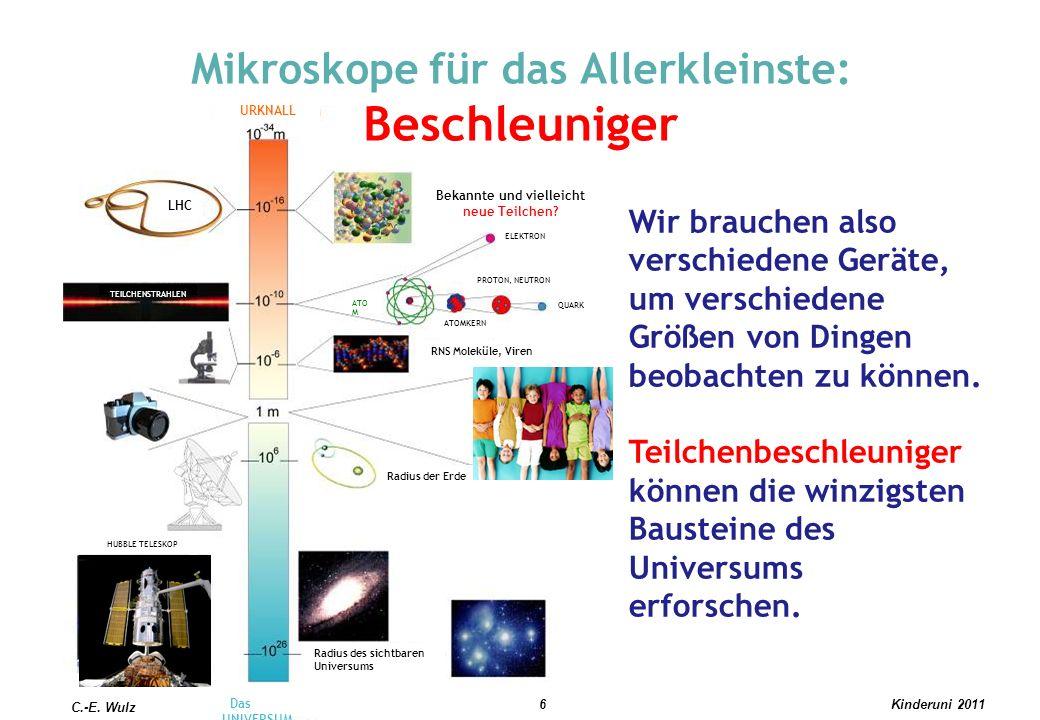Mikroskope für das Allerkleinste: Beschleuniger