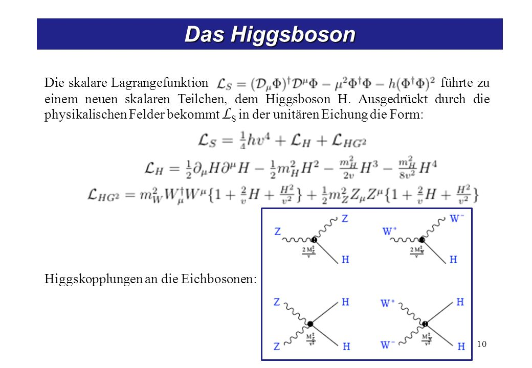 Higgs bei LEP Higgs-Strahlung (Hauptsuchkanal):