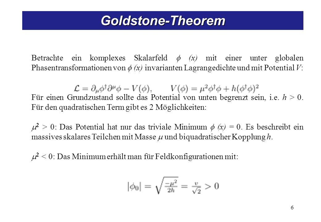Goldstone-Theorem