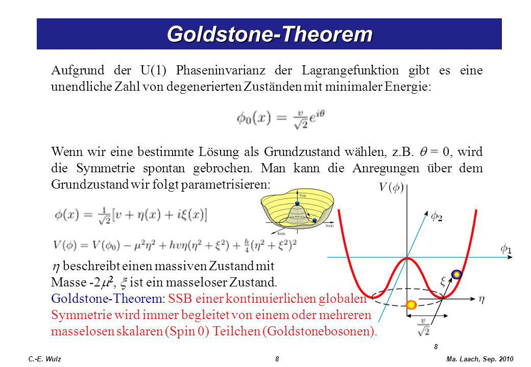 Goldstone-Theorem