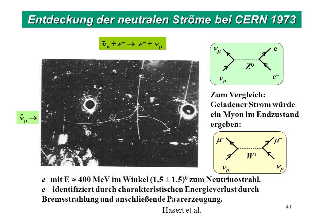 Blasenkammer Gargamelle am CERN