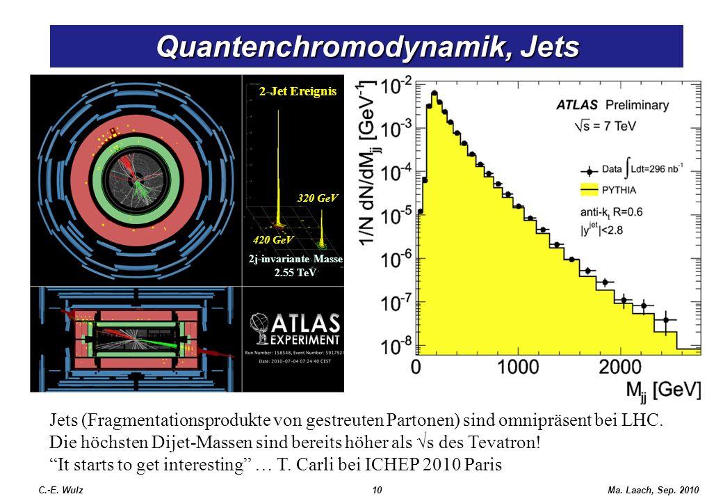 Quantenchromodynamik, Jets