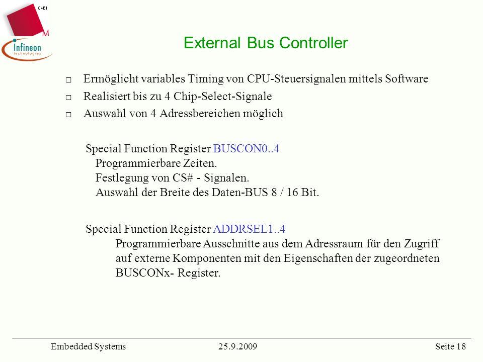 External Bus Controller